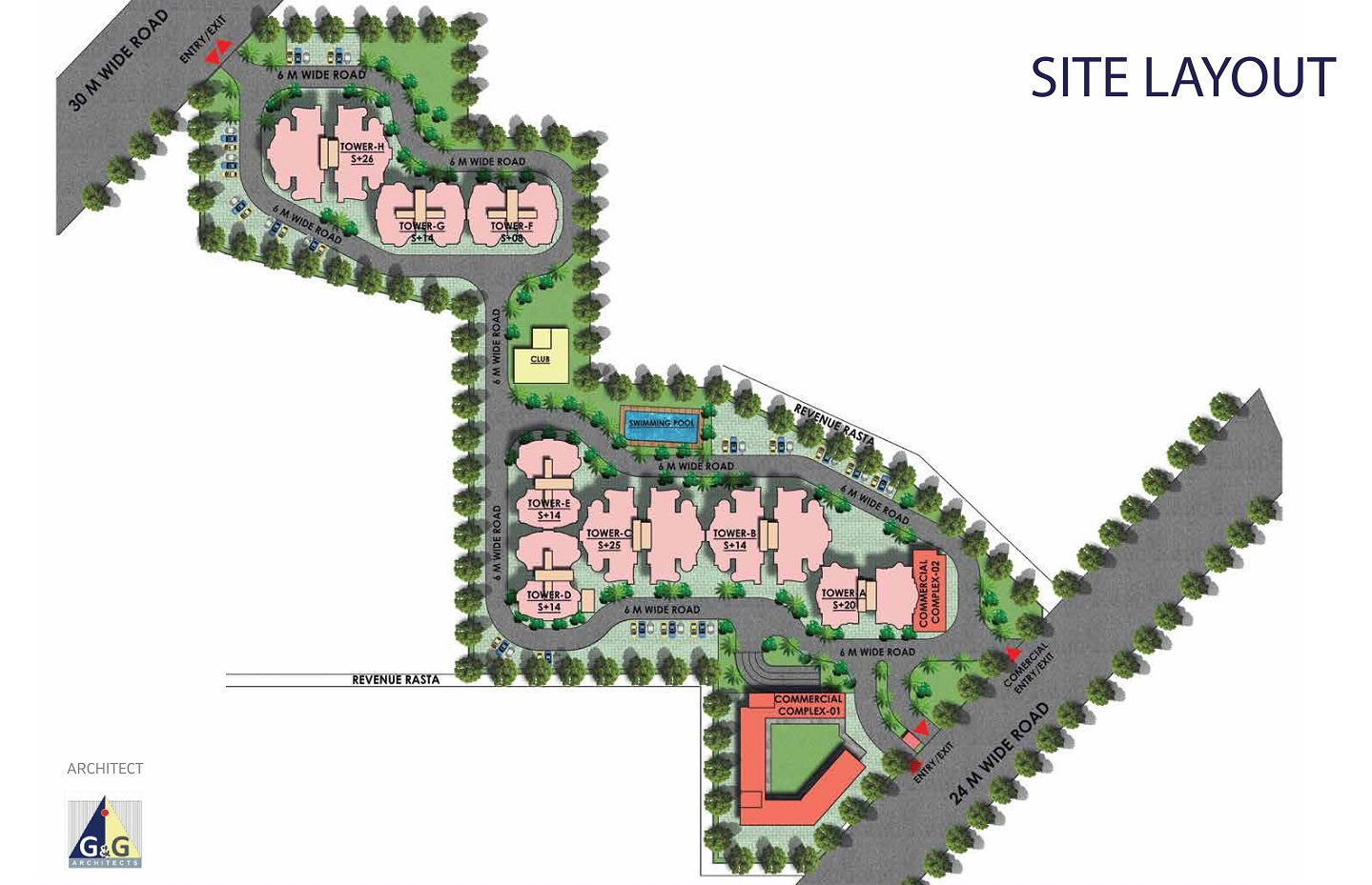 Mahira Homes 103 Site Layout